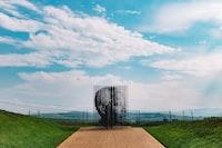 Morgan Freeman artwork at daytime