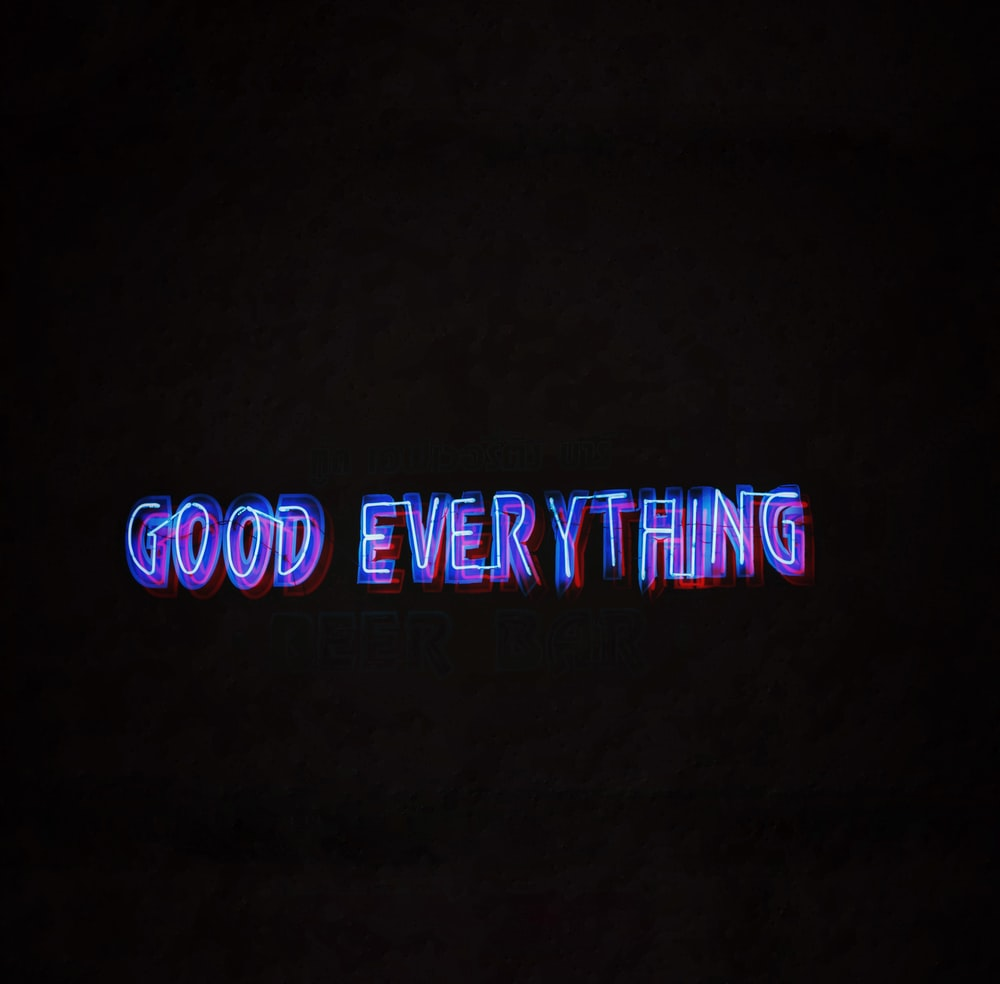 good everything text