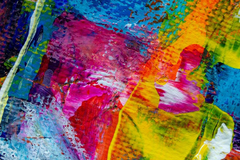 multicolored textilee