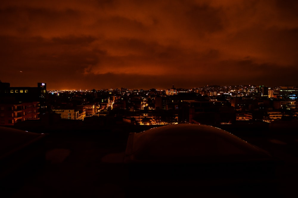 cityscape during nighttime