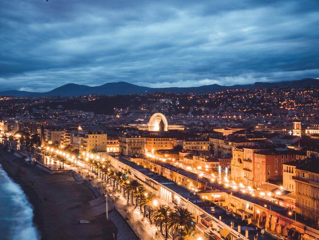 La promenade des angais à Nice