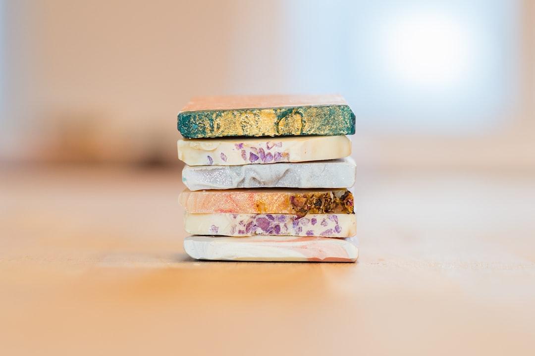 Soap pieces