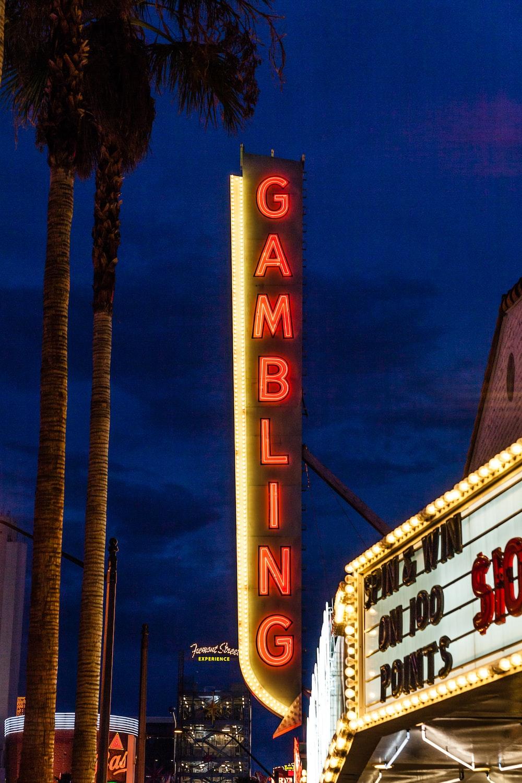 turn-on Gambling LED signage