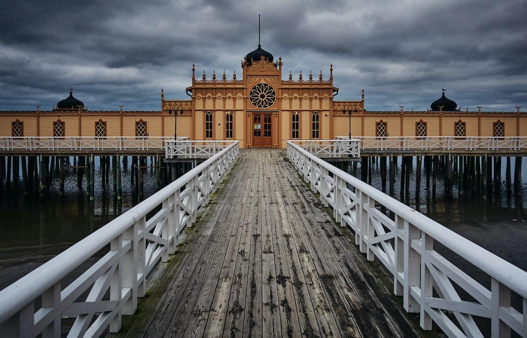 Building, Varberg,Sweden