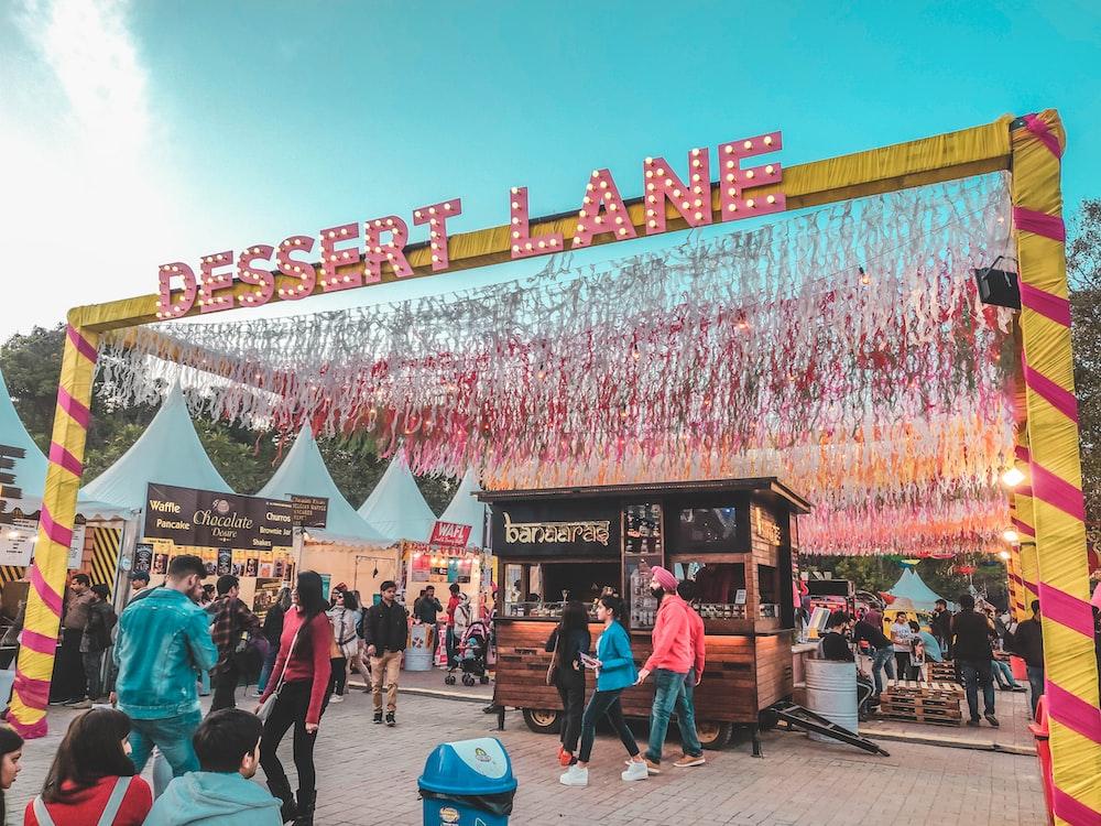 Dessert Lane Festival