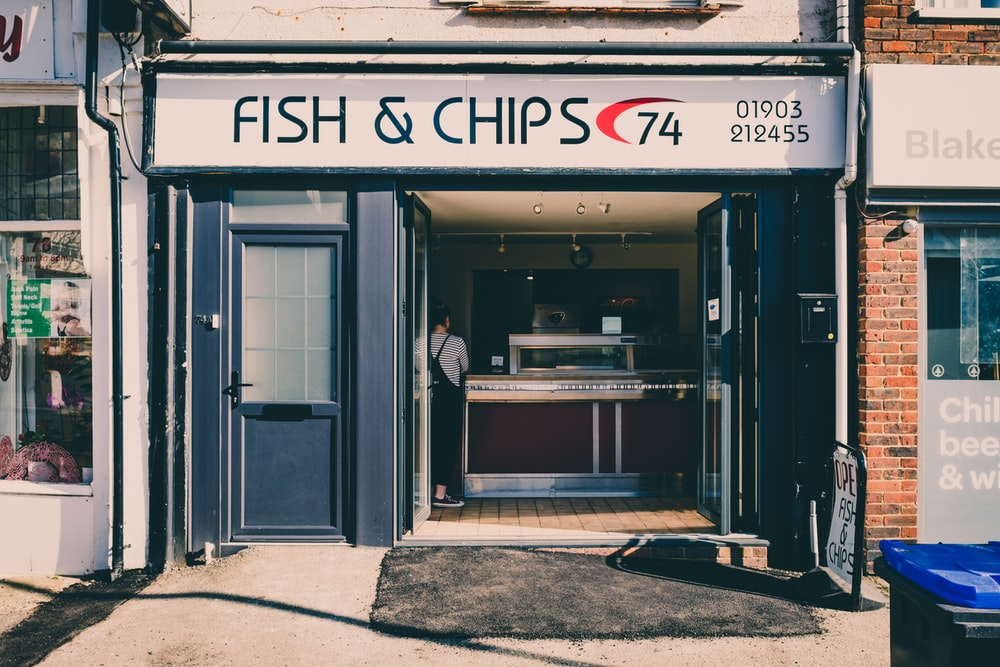 fish & chips store