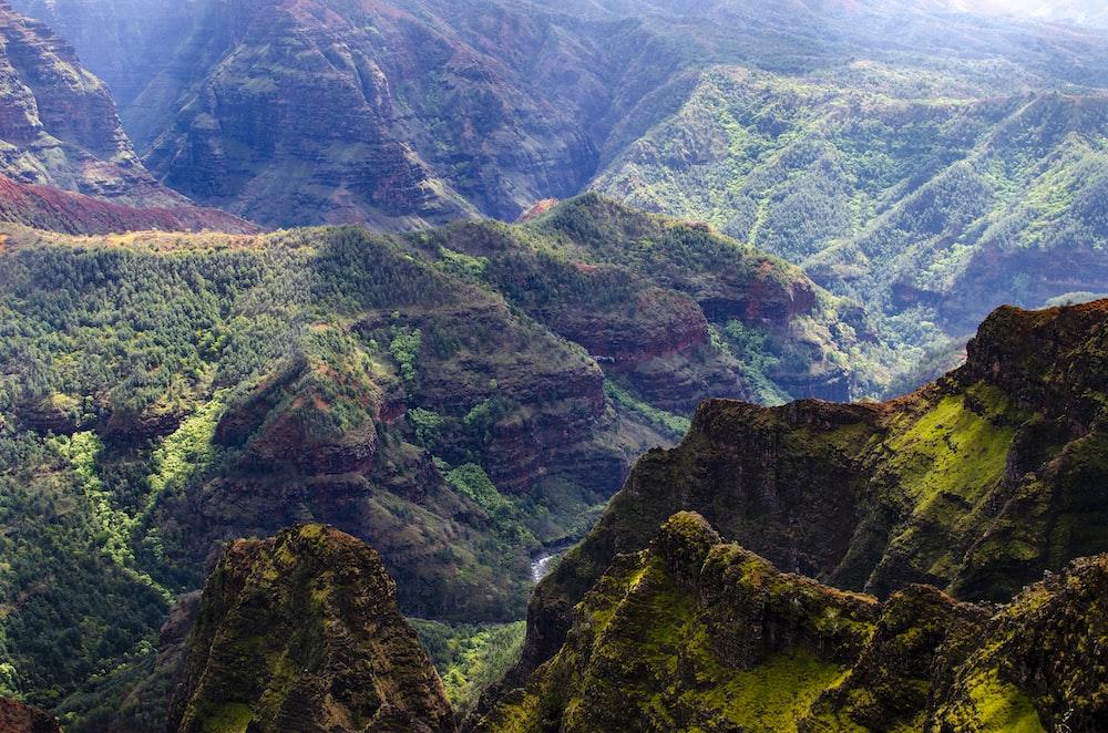 geren mountain scenery