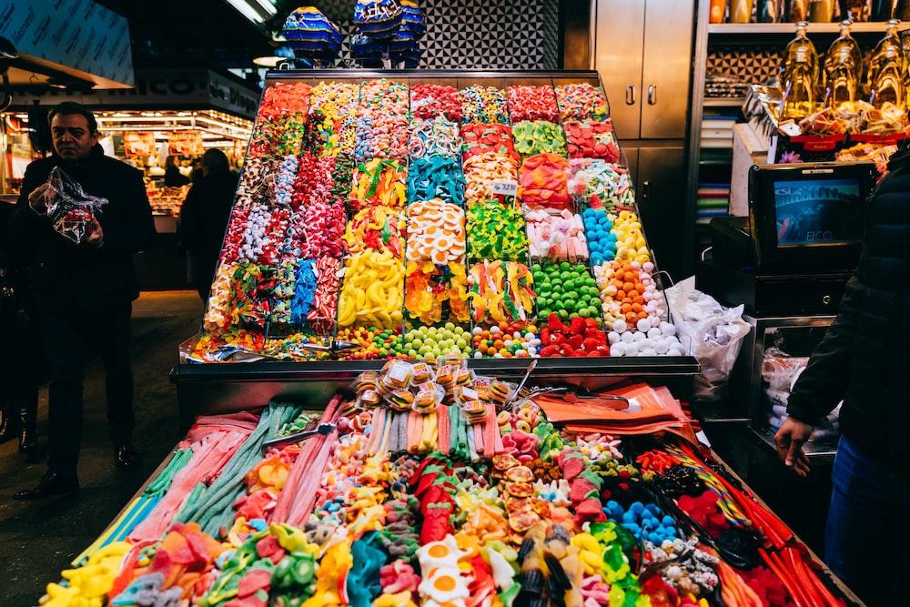 assorted-color item lot