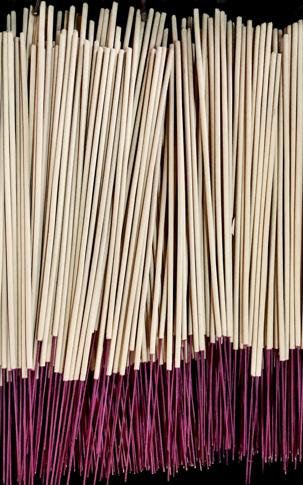 pile of brown incense stick lot