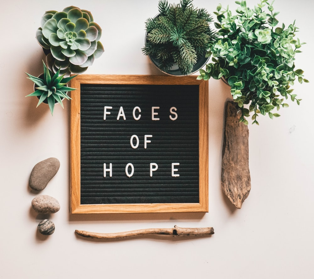 Faces of Hope decor
