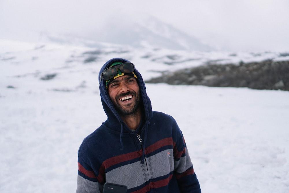 man smilingg