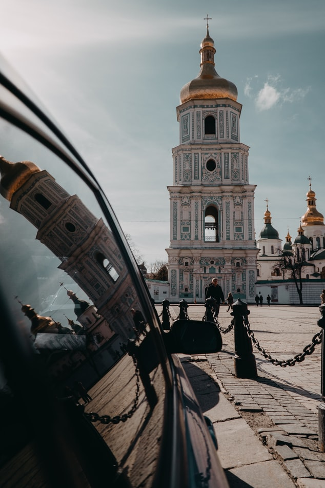 a snap of the Saint Sophia's Cathedral: Top attractions to cover in Kiev.