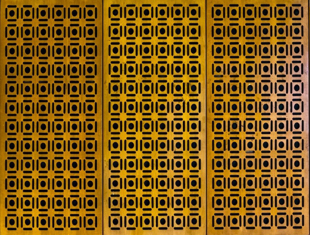 yellow plastic cover\