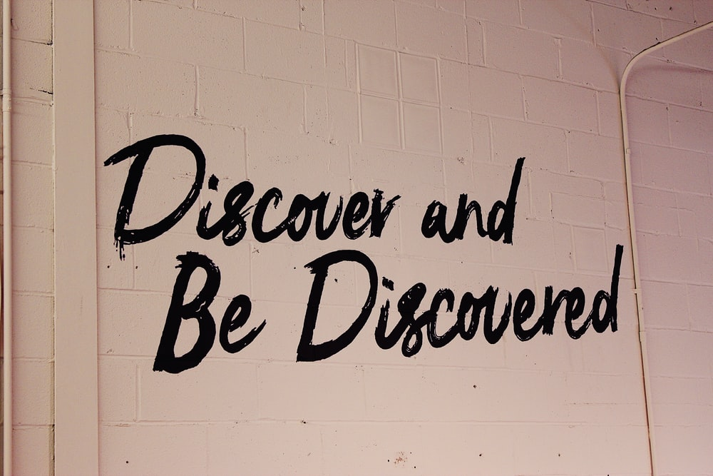 discover and be discovered text