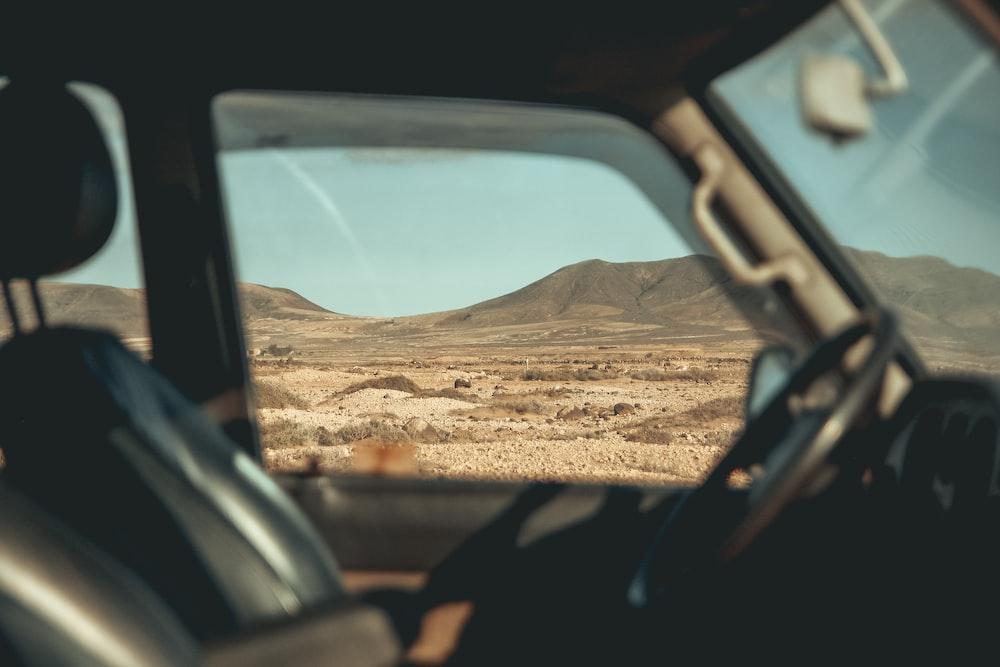 empty driver seat