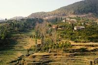 Farmland in Kathmandu