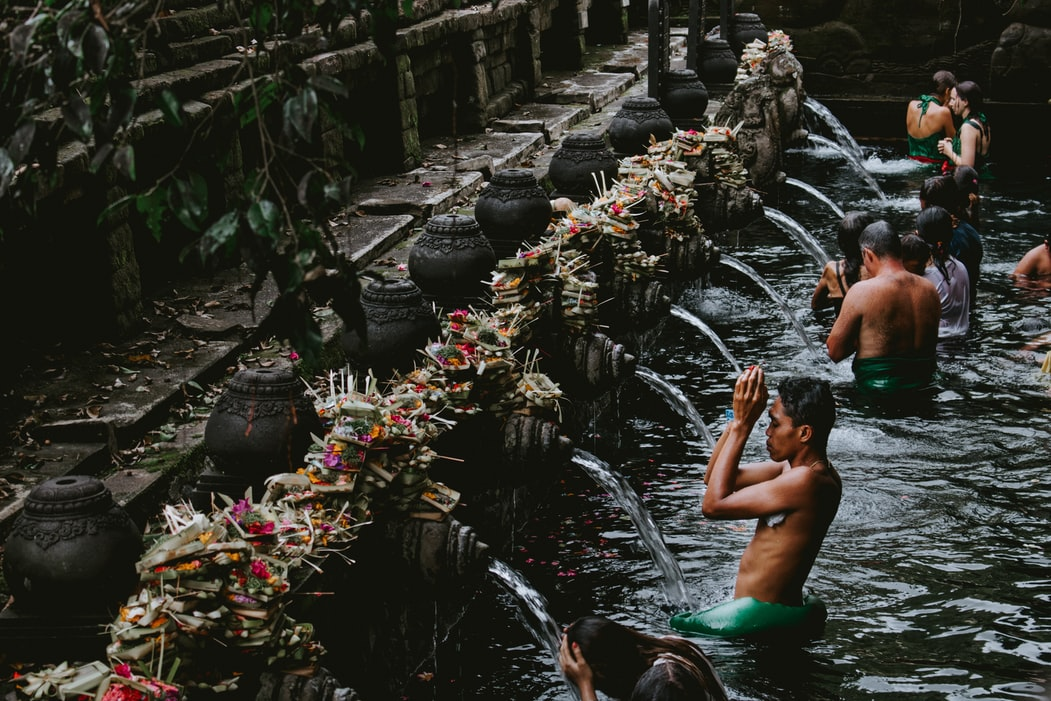 Ritual Purification at Tirta Empul Temple