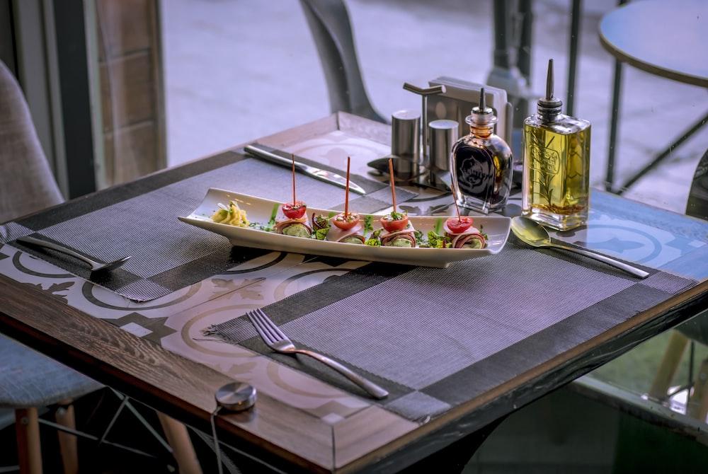 dessert on plate