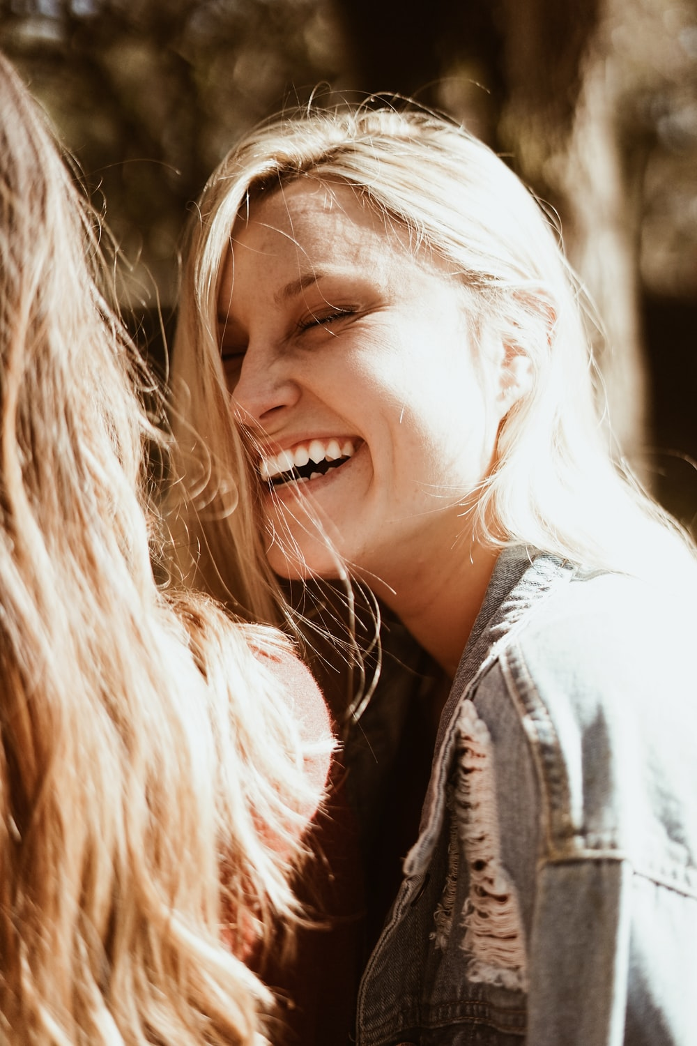 smiling woman during day