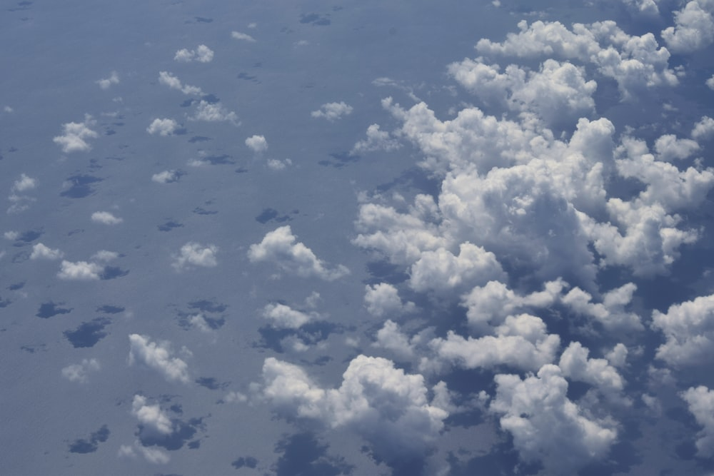 aerial photography of clouds during daytime