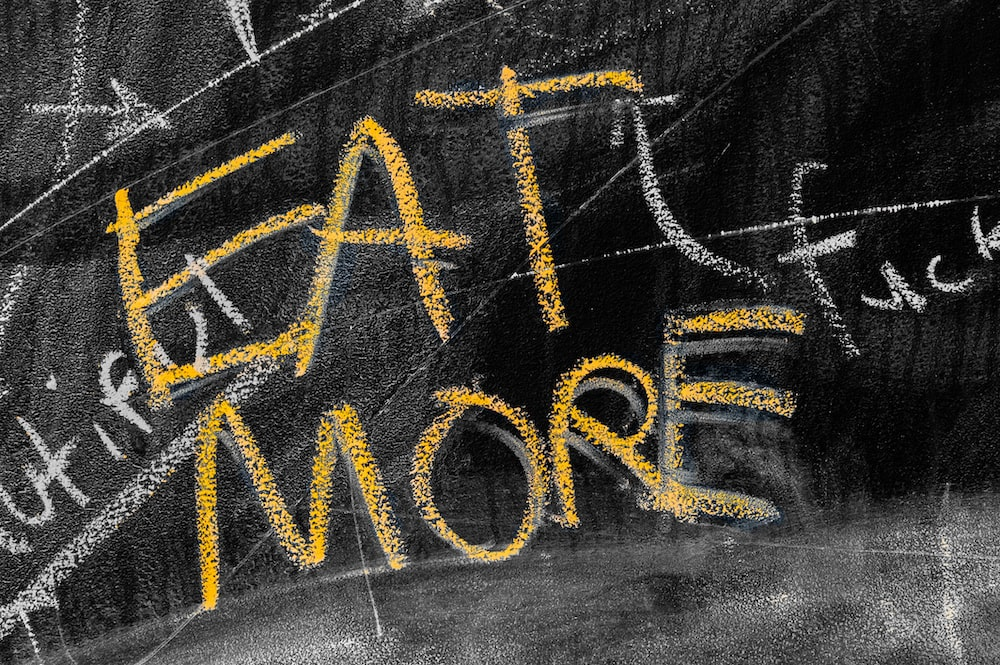 eat more text