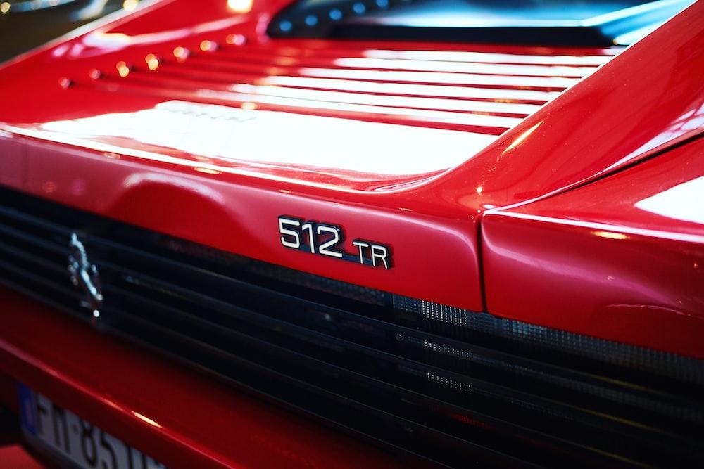 red car fender