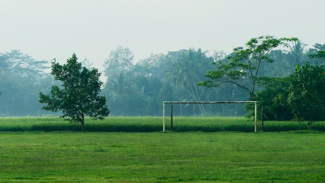 Simple Goalpost at Sidakangen Soccer Field