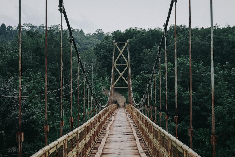empty foot bridge