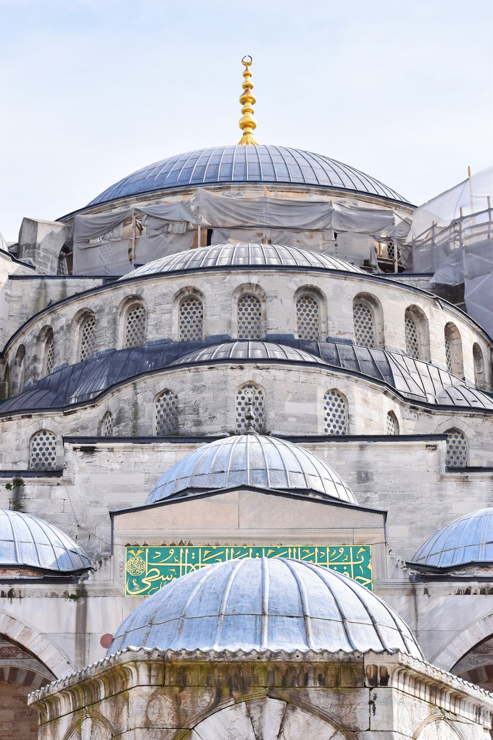 The Blue Mosque at Turkey