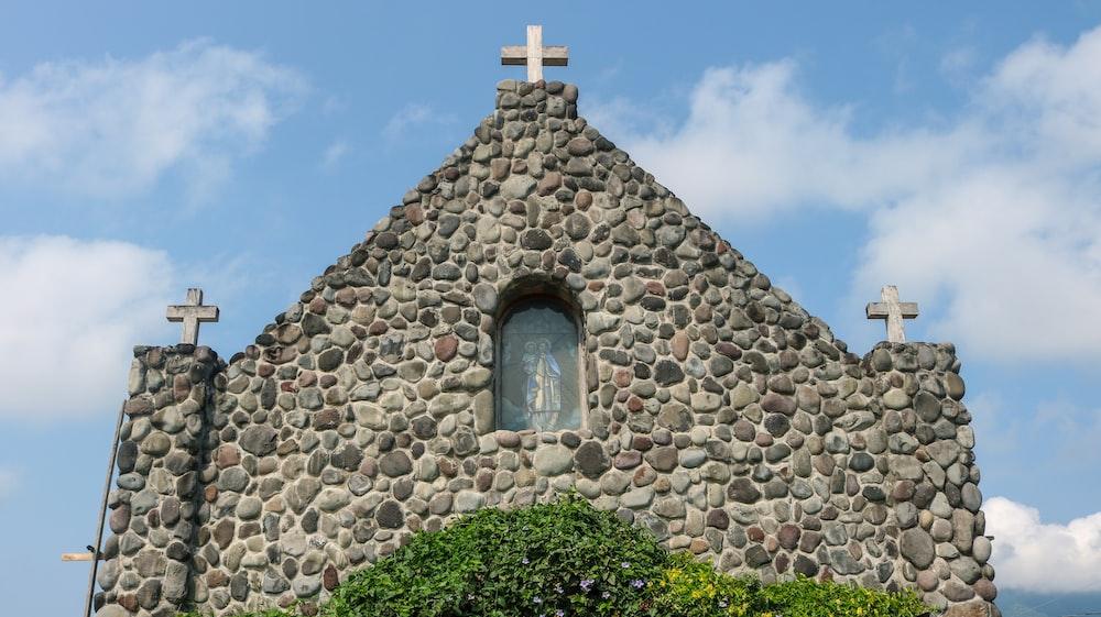 gray stone chapel
