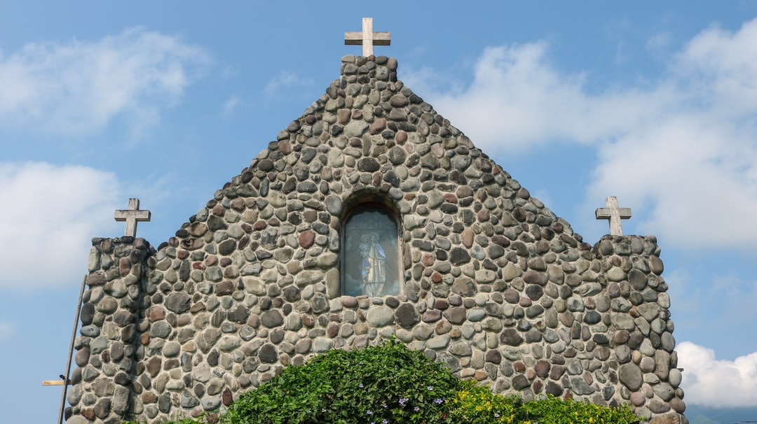 This lovely chapel was inspired by the Ivatan stone houses.