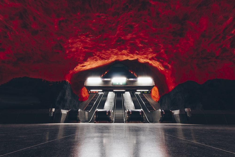 underground escalators