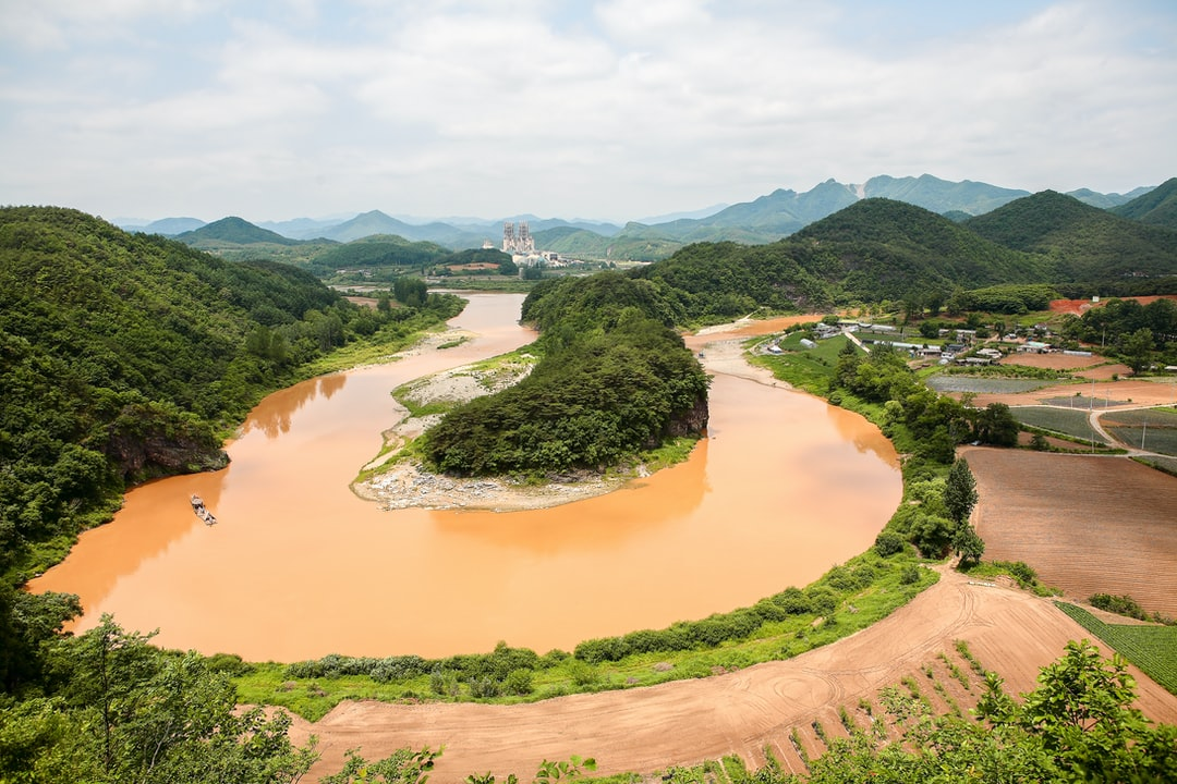 This area is very famous because topography is looks like shape of KOREA.