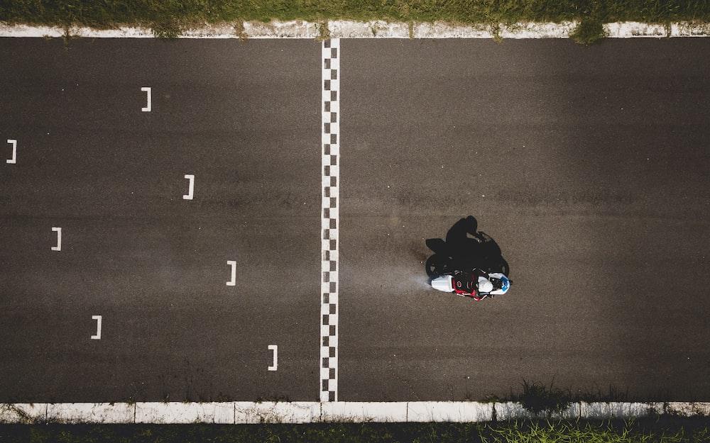 race track starting line