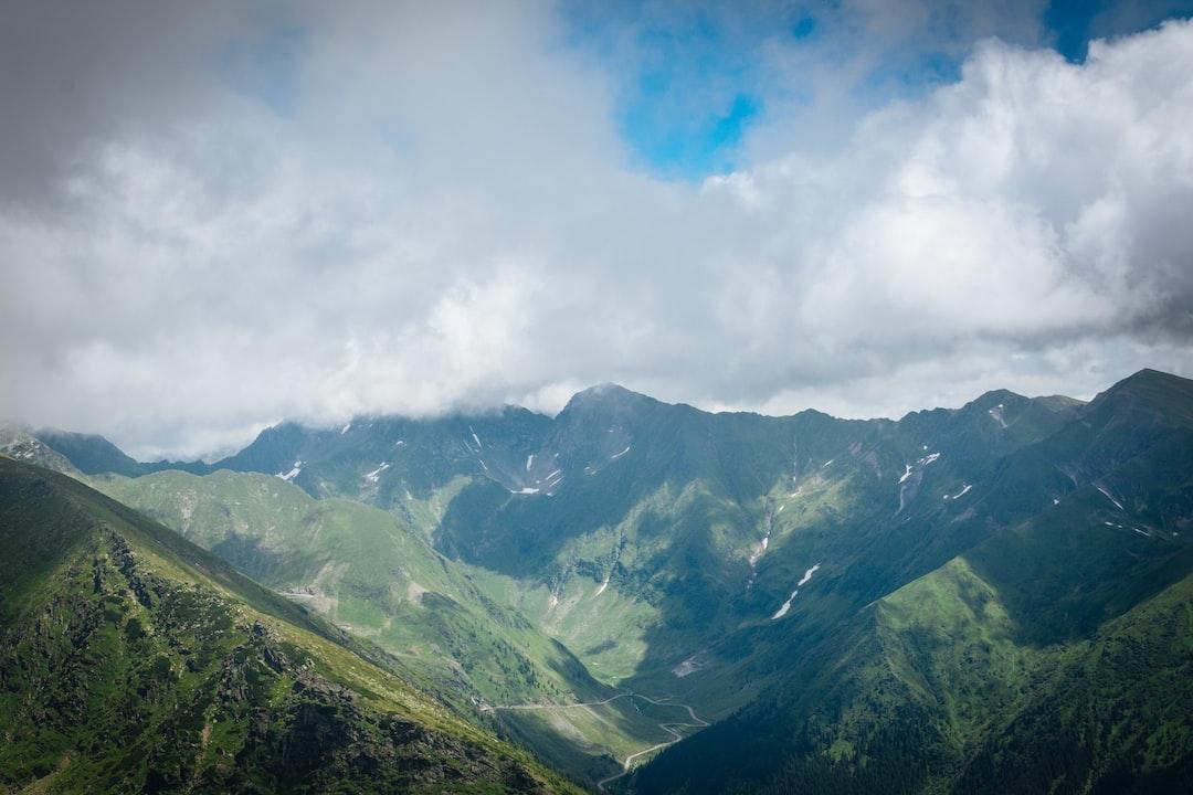 Fagaras Mountains View