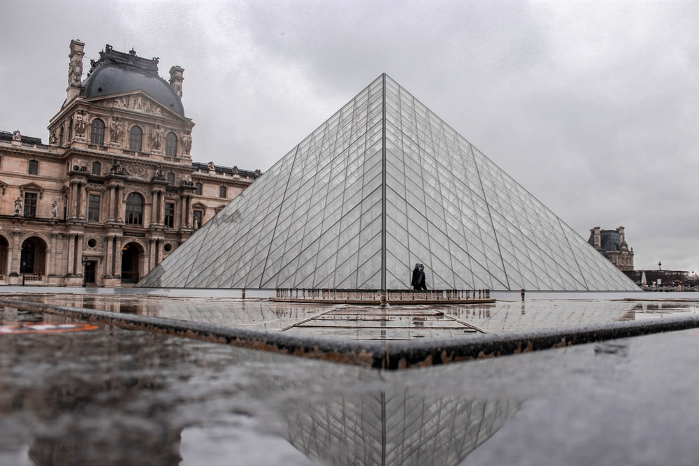 The Louvre Museum, Paris at daytime