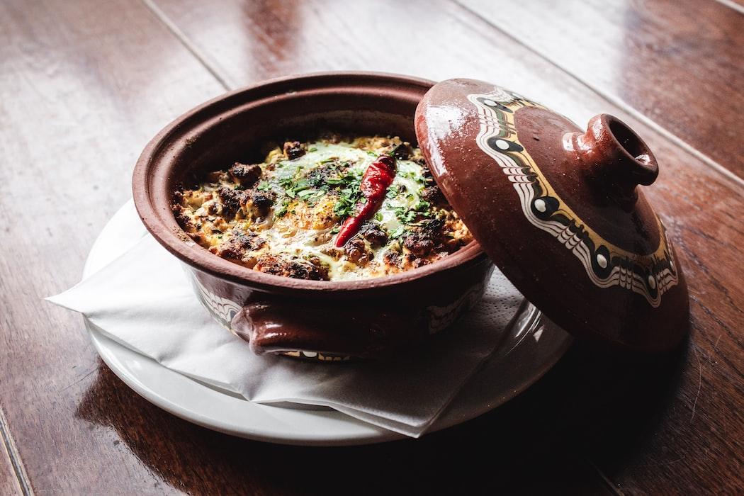 Briyani in restaurant in Seville