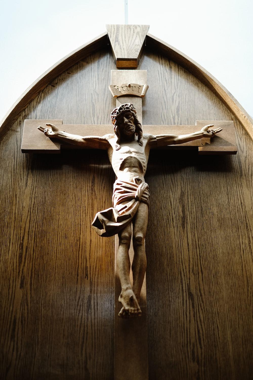 Jesus in Cross wall decor