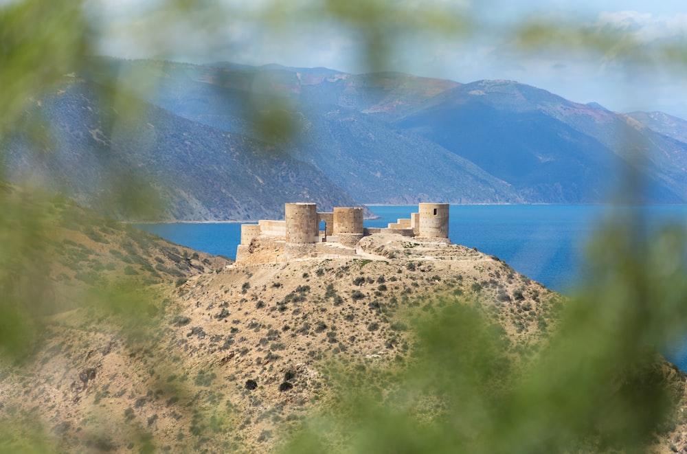 landscape photography of castle