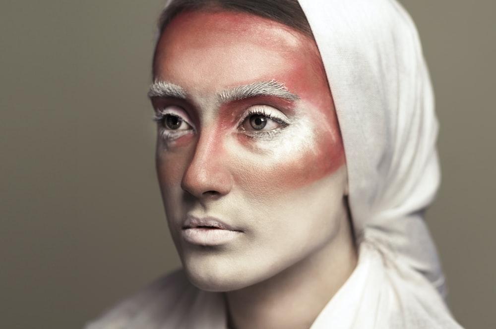 woman in white hijab