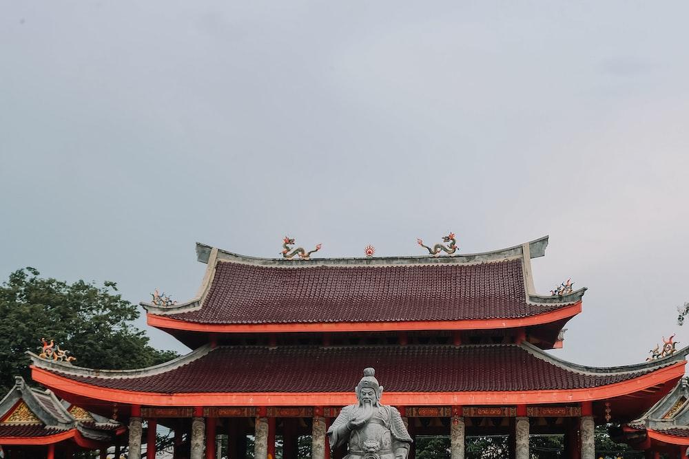 brown pagoda