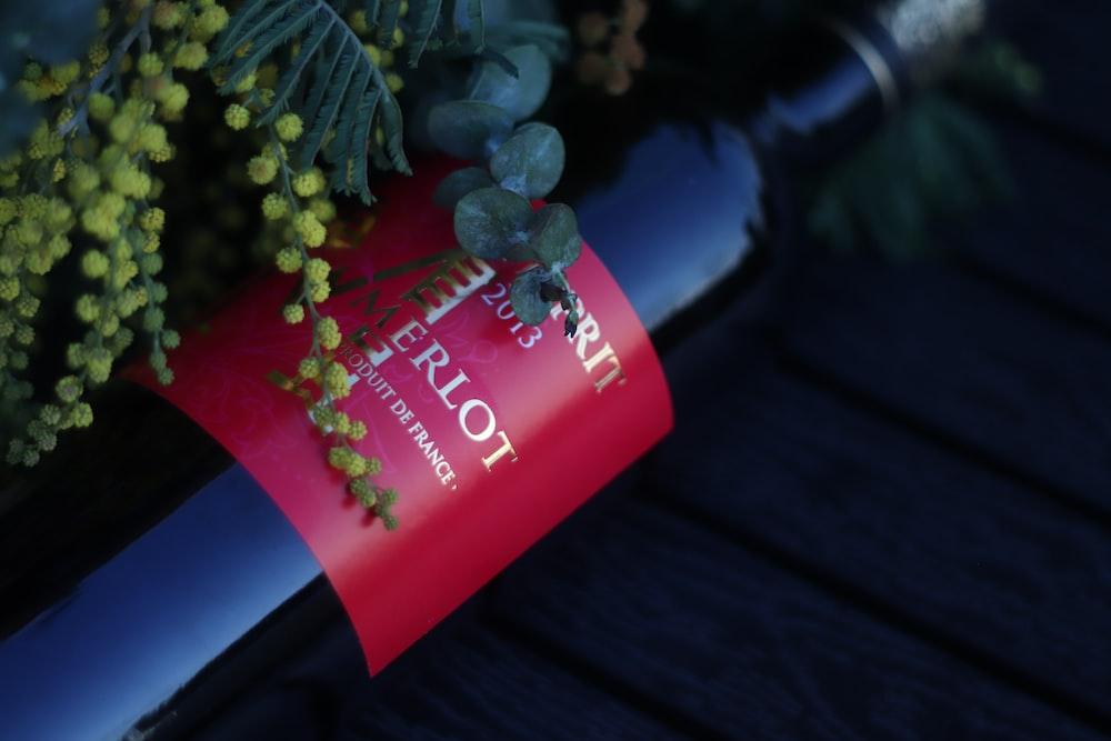 Merlot bottle 2013