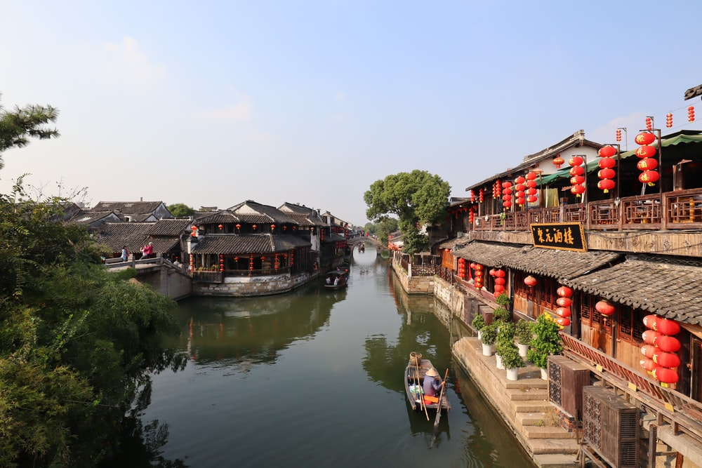 view of a river in China