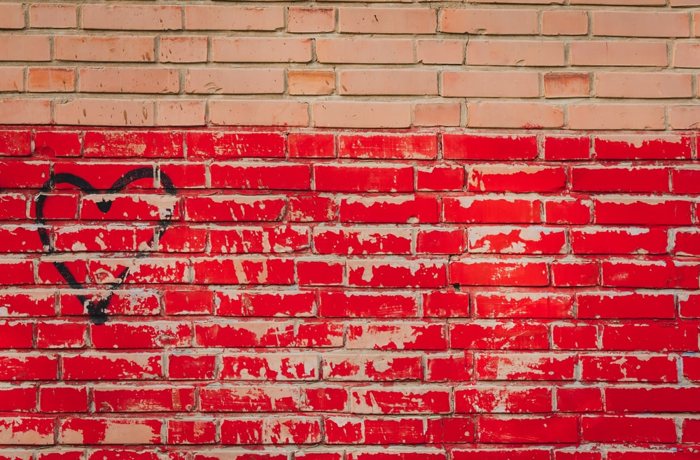 red wall bricks