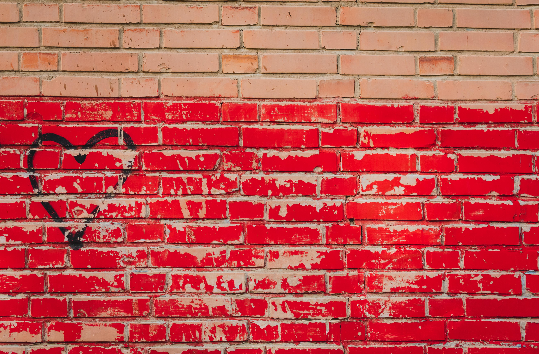 red wall bricks