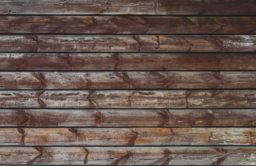 brown wall cladding