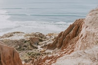 Over the cliffs of Torrey Pines