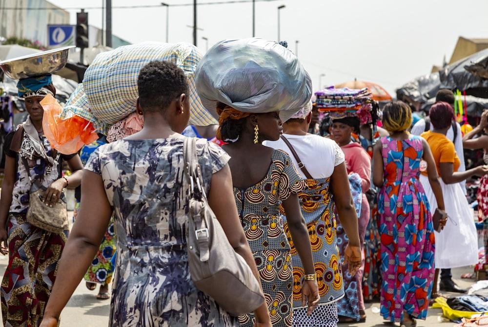 people walking during daytime