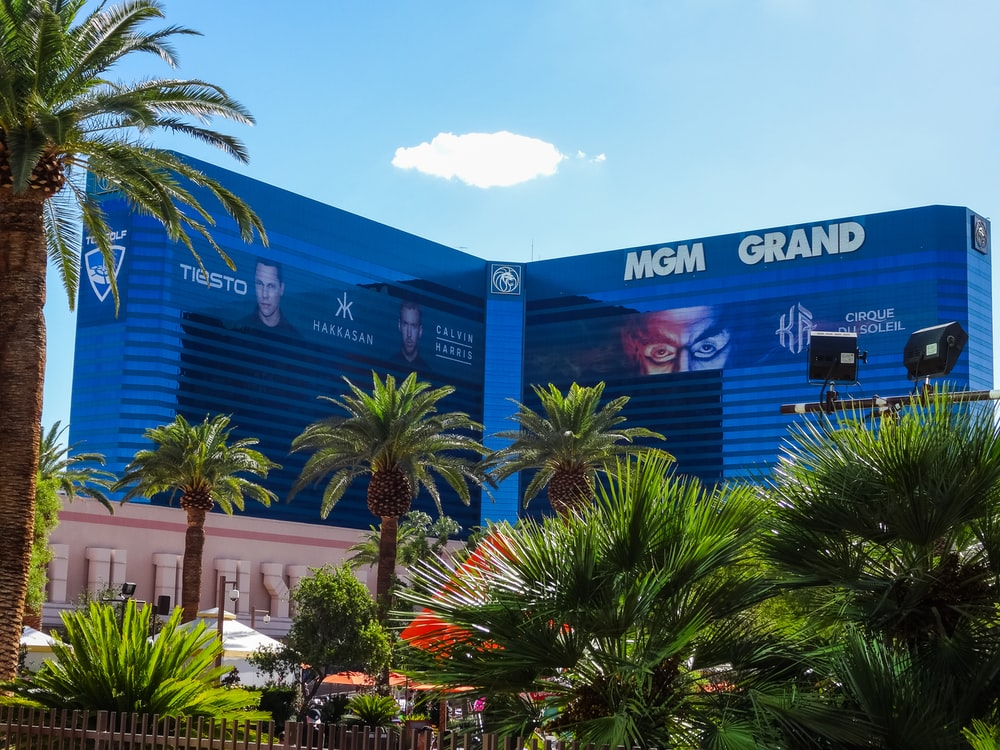 view of MGM Grand building