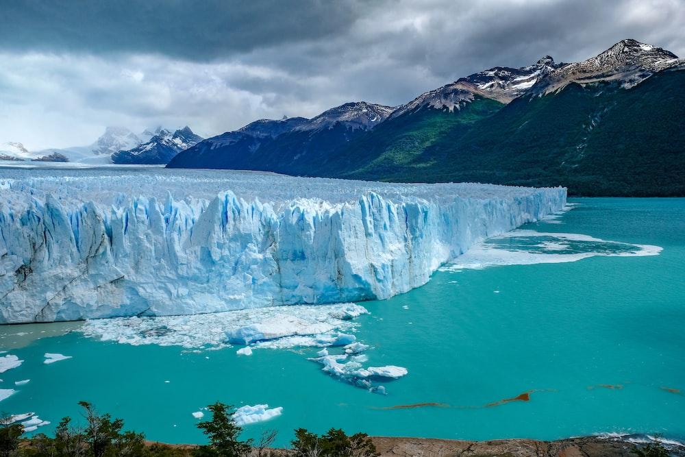glacier in Los Glaciares National Park, Santa Cruz Province, Patagonia, Argentina